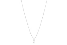 "Diamond Cut Love Letter Necklace ""Z"""