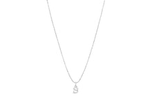 "Diamond Cut Love Letter Necklace ""K"""