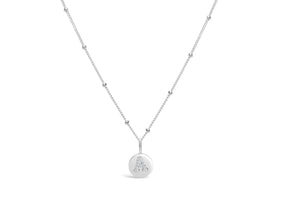 "Pavé Love Letter Necklace ""A"""