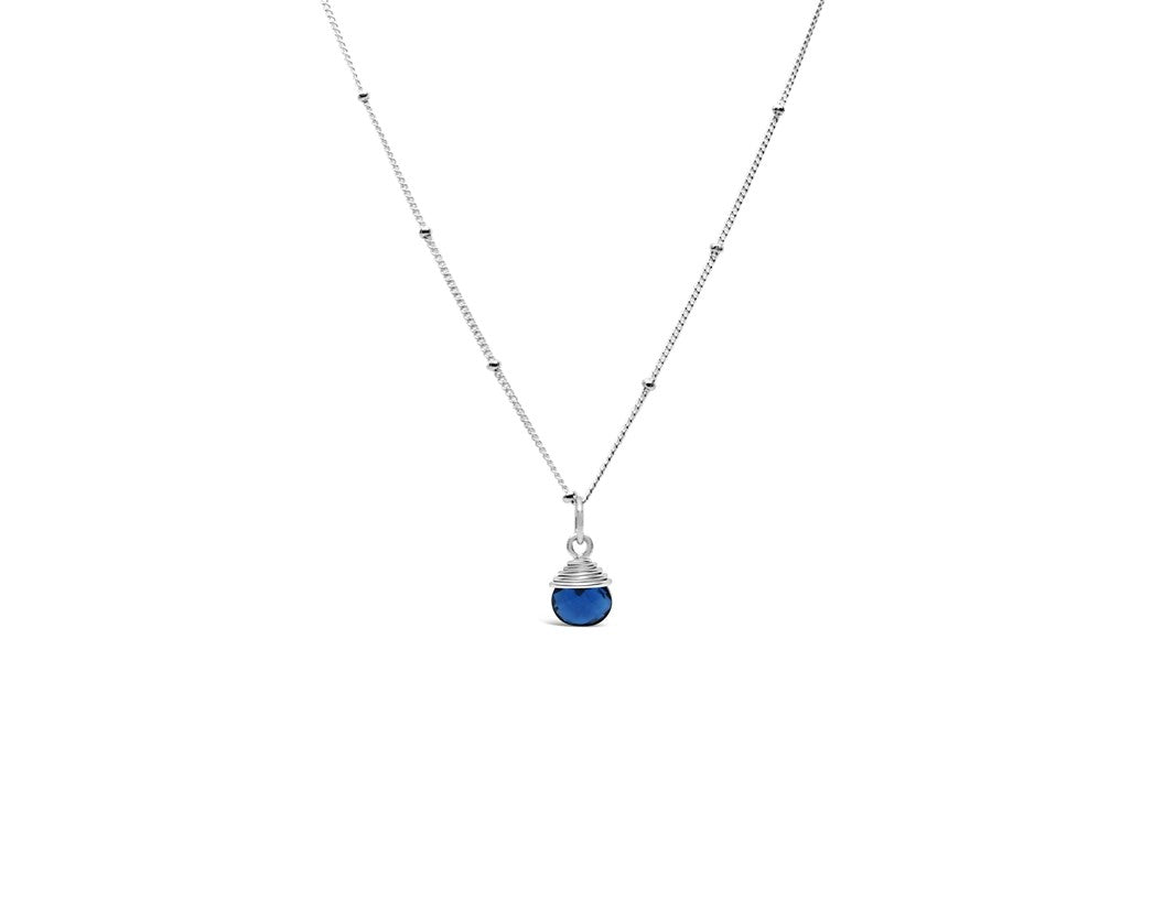Precious Wraps Necklace London Blue