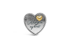 """Always in my Heart"" Pocket Token"