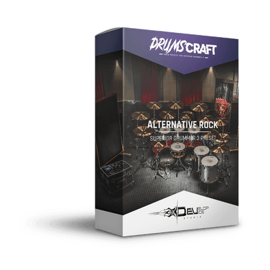 Alternative Rock | Superior Drummer 3 Preset