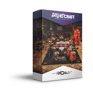 Afterlife | Superior Drummer 3 Preset | DRUMSCRAFT | Superior Drummer 3 Presets | Death & Darkness SDX