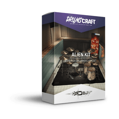 Alien Kit | Superior Drummer 3 Preset