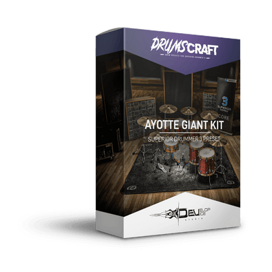 Ayotte Giant Kit | Superior Drummer 3 Preset