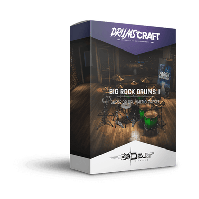 Big Rock Drums II | Superior Drummer 3 Preset