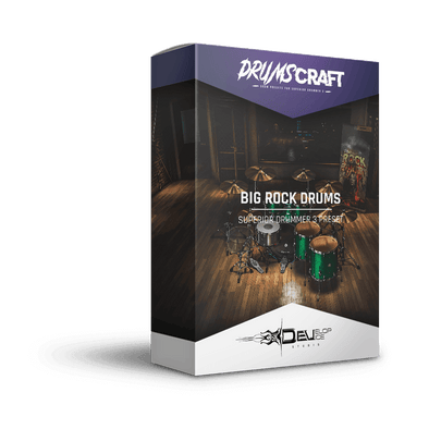 Big Rock Drums | Superior Drummer 3 Preset