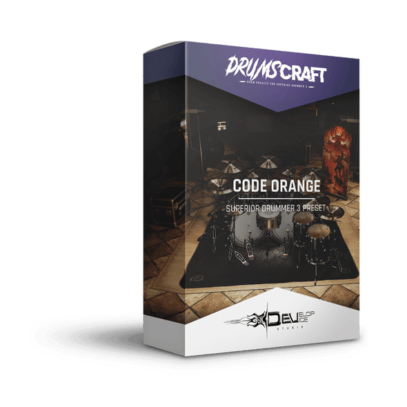 Code Orange | Superior Drummer 3 Preset