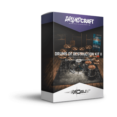 Drums of Destruction Kit II | Superior Drummer 3 Preset
