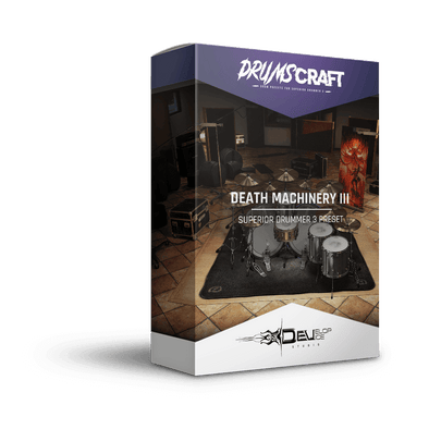 Death Machinery III | Superior Drummer 3 Preset