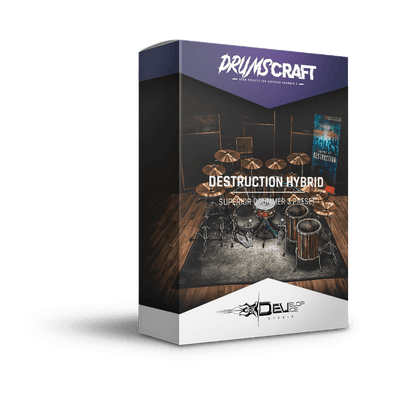 Destruction Hybrid | Superior Drummer 3 Preset