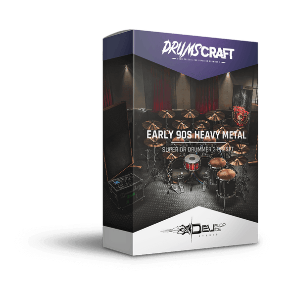 Early 90s Heavy Metal Drums | Superior Drummer 3 Preset