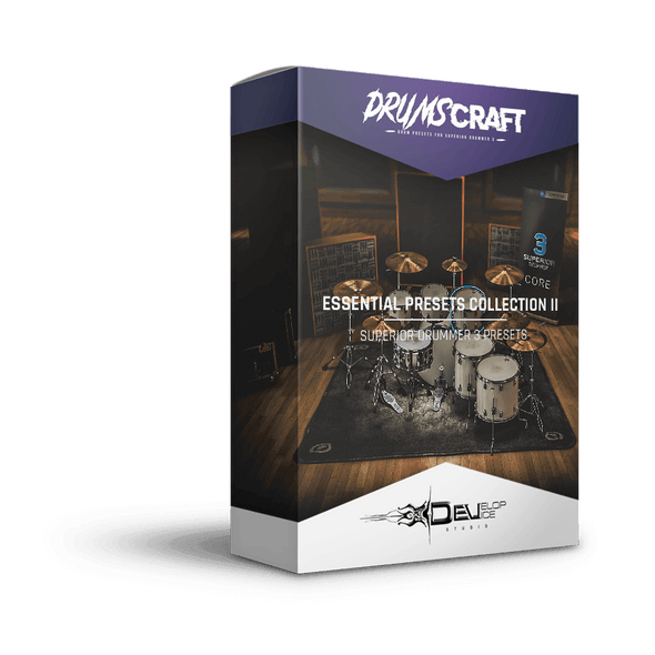 7 Essential Presets Collection II for Superior Drummer 3 | Superior Drummer 3 Preset
