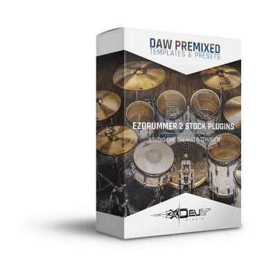 EZDrummer 2 Multi-Out | Stock Plugins Only | Studio One premixed template