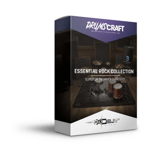 Essential Rock Collection for Superior Drummer 3 | Superior Drummer 3 Preset