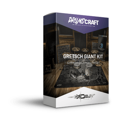 Gretsch Giant Kit | Superior Drummer 3 Preset