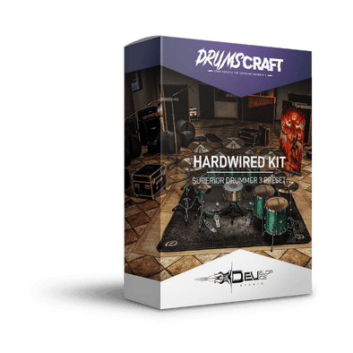 Hardwired Kit | Superior Drummer 3 Preset
