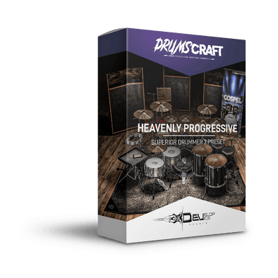 Heavenly Progressive | Superior Drummer 3 Preset