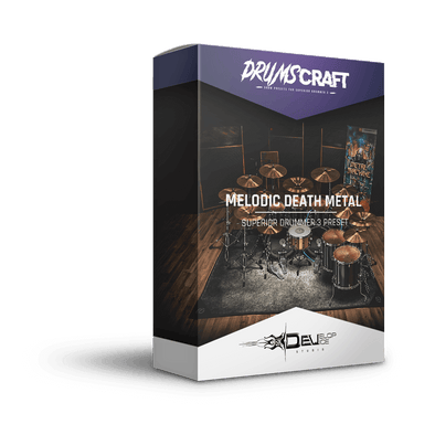 Melodic Death Metal Drums | Superior Drummer 3 Preset