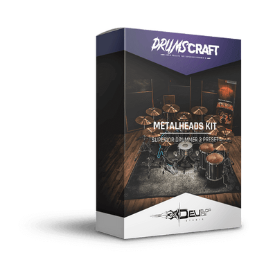 Metalheads Kit | Superior Drummer 3 Preset