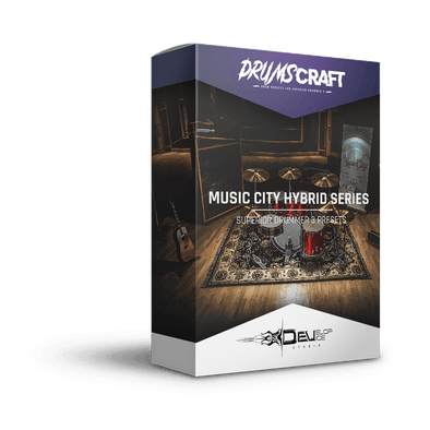 Music City HYBRID Series - 7 presets pack | Superior Drummer 3 Preset