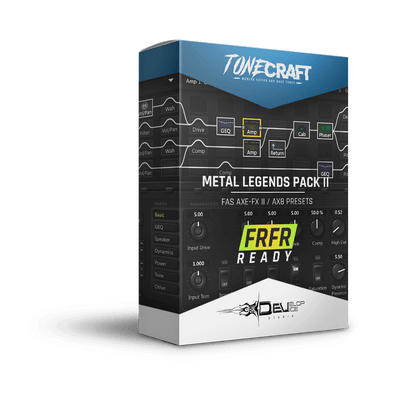 Metal Legends Pack II | Fractal Axe-Fx II / AX8 | FRFR Ready | TONECRAFT