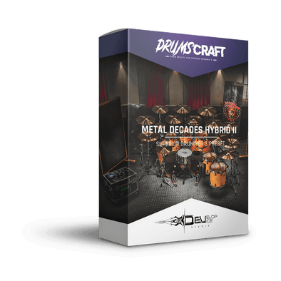 Metal Decades Hybrid II | Superior Drummer 3 Preset