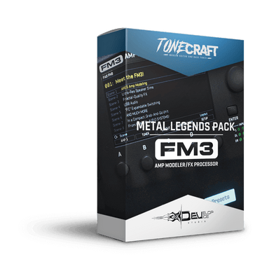 Metal Legends Pack | Fractal FM3 | TONECRAFT