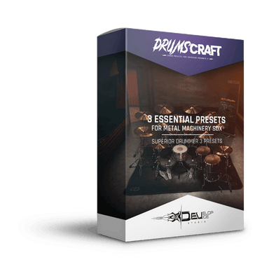 3 Essential Presets Collection for Metal Machinery SDX - Develop Device