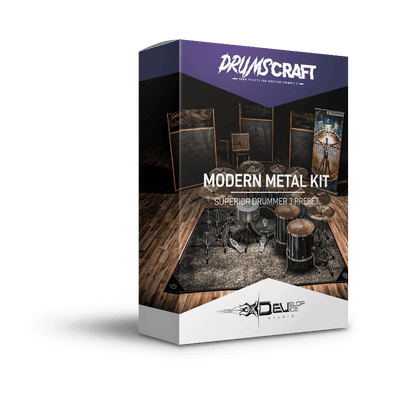 Modern Metal Kit | Superior Drummer 3 Preset