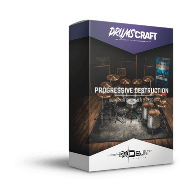 Progressive Destruction | Superior Drummer 3 Preset