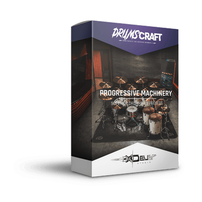 Progressive Machinery | Superior Drummer 3 Preset
