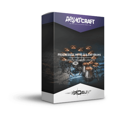 Progressive Metal & Djent Drums - 4 Presets | UPDATE BUNDLE - Develop Device