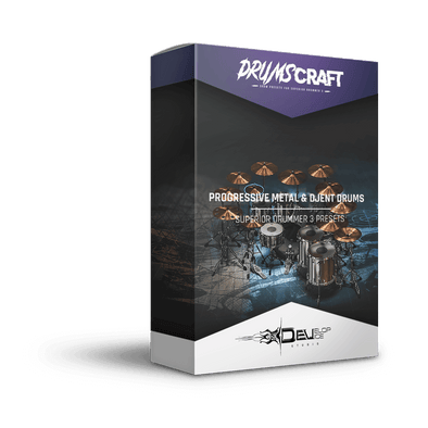 Progressive Metal & Djent Drums - 4 Presets Pack - Develop Device