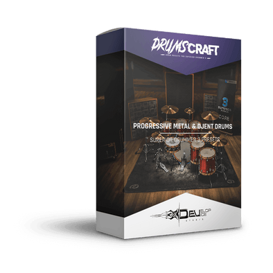 Progressive Metal & Djent Drums II - 4 Presets Pack - Develop Device