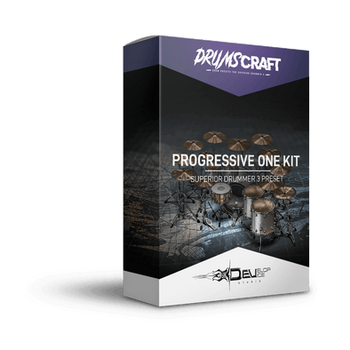 Progressive One Kit | Superior Drummer 3 Preset