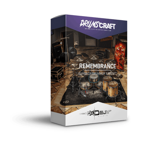 Remembrance Kit | Superior Drummer 3 Preset