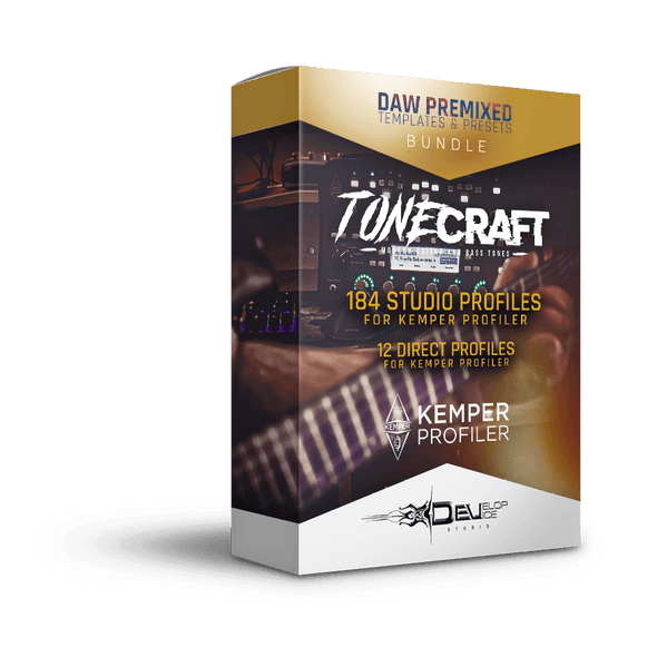 TONECRAFT Bundle | Kemper Profiler | Vol. 1 | TONECRAFT