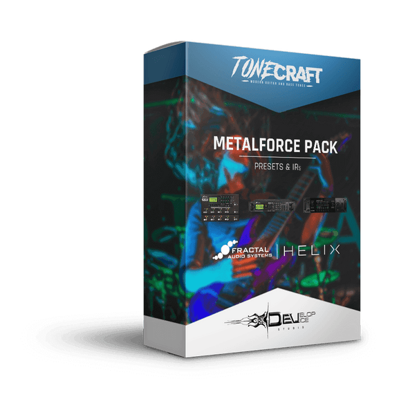 Metalforce Pack | Presets & IRs | TONECRAFT