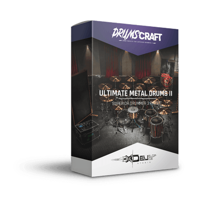 Ultimate Metal Drums II | Superior Drummer 3 Preset