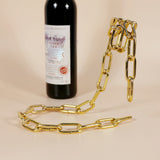 Magic Metal Chain Wine Holder