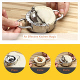 Professional Stainless Steel Dumpling and Ravioli Maker