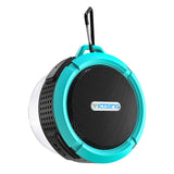 Waterproof Bluetooth Shower Speaker With Built In Microphone Set of 2