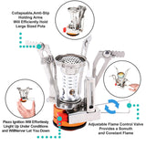 Ultra-light Mini Portable Camping Gas Stove
