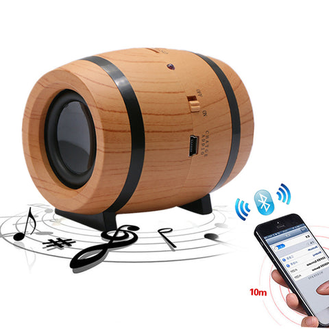 Mini Beer Barrel Wireless Bluetooth Speaker