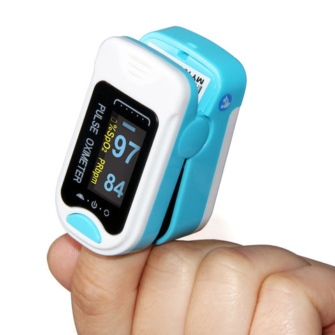 Finger Pulse SPO2 PR Monitor Blood Oxygen Oximeter