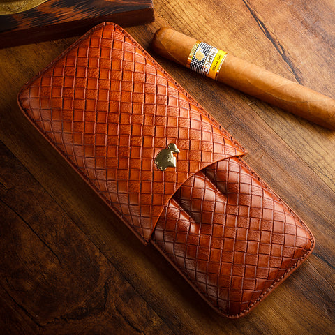 Cohiba Leather Travel Cigar Case
