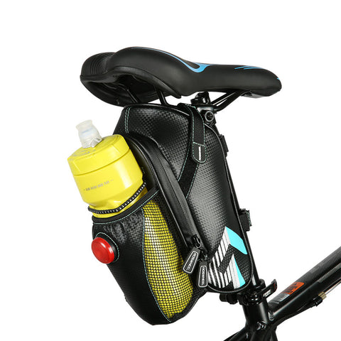 Waterproof Bicycle Saddle Bag With Bicycle Tail Light