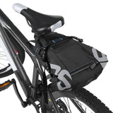 Waterproof Bicycle Seat Pack Saddle Bag 10L