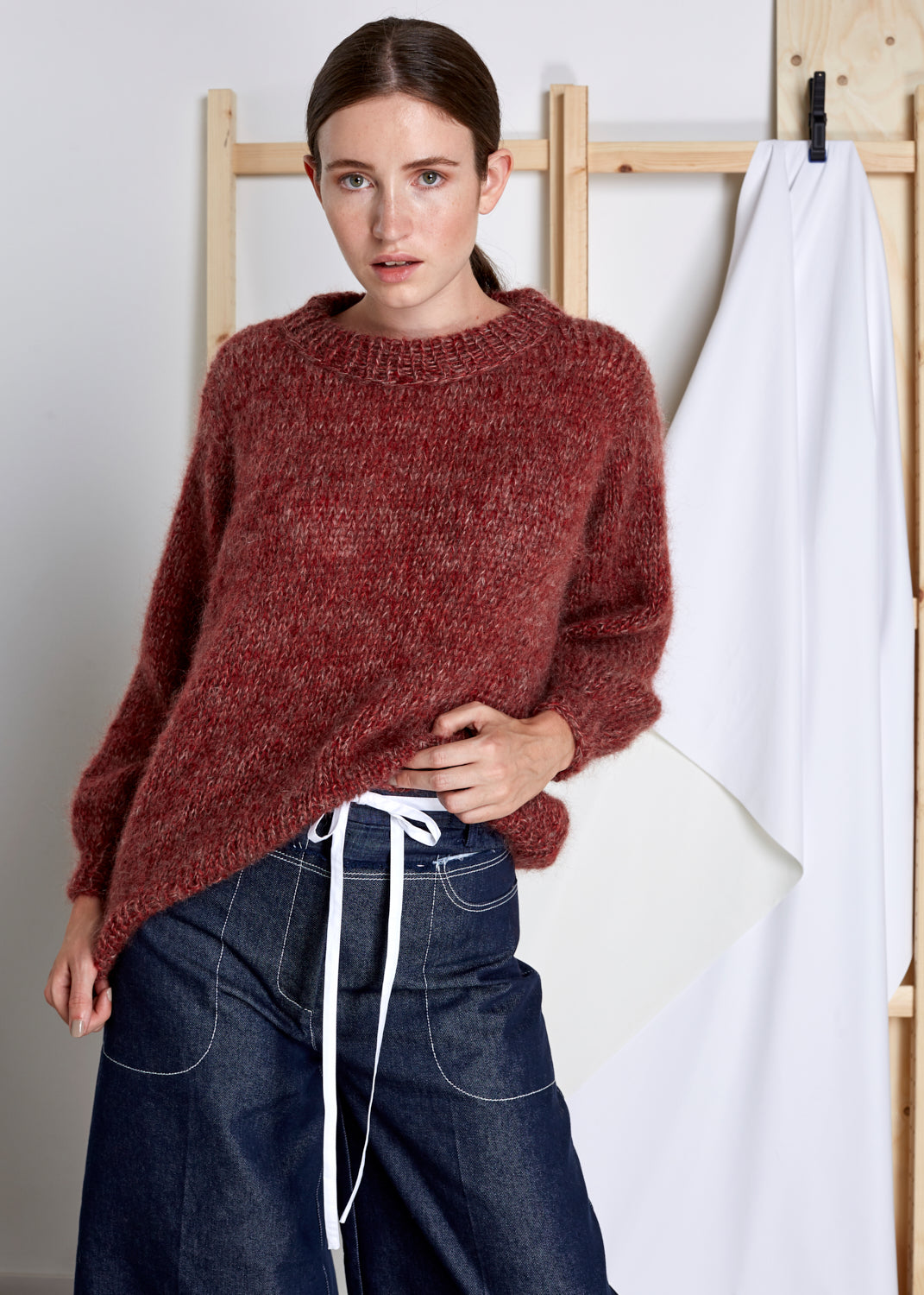 VIVIAN GRAF - Emily Sweater - red melange